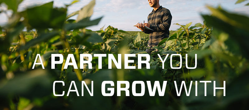 A partner you can grow with