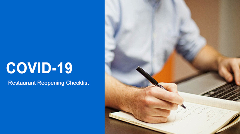 Covid-19 Restaurant Reopening. Download Checklist