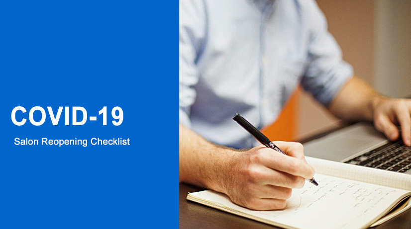 Covid-19 Salon Reopening. Download Checklist