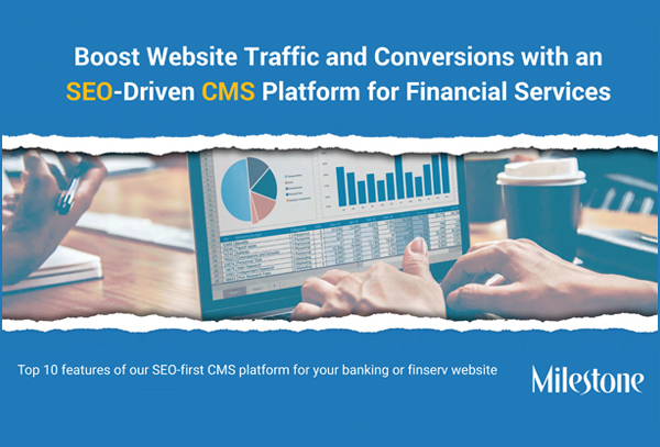 Content management system (CMS) for your financial services