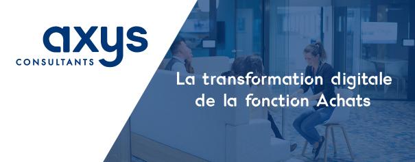 transformation digitale fonction achats