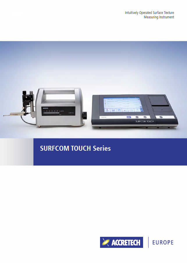 SURFCOM TOUCH Series