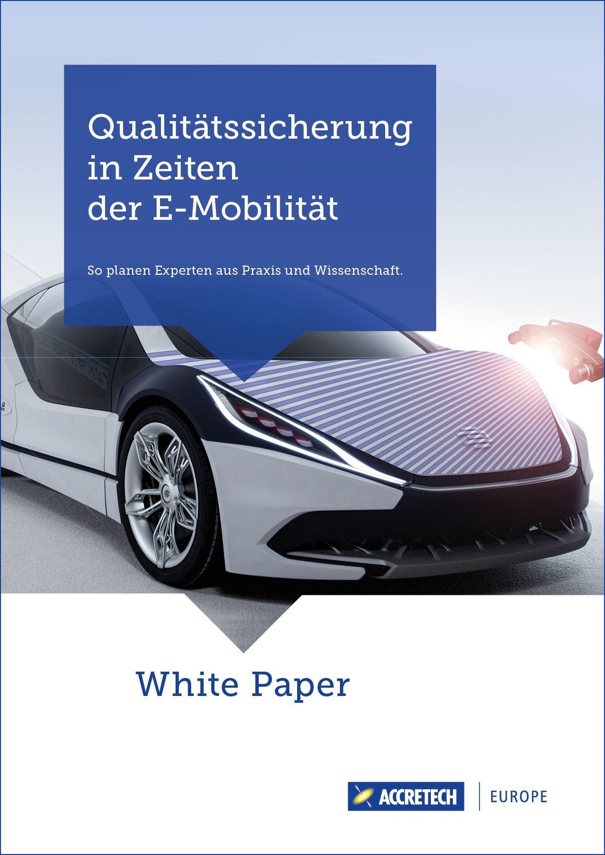 White Paper Qualitätssicherung in Zeiten der E-Mobility