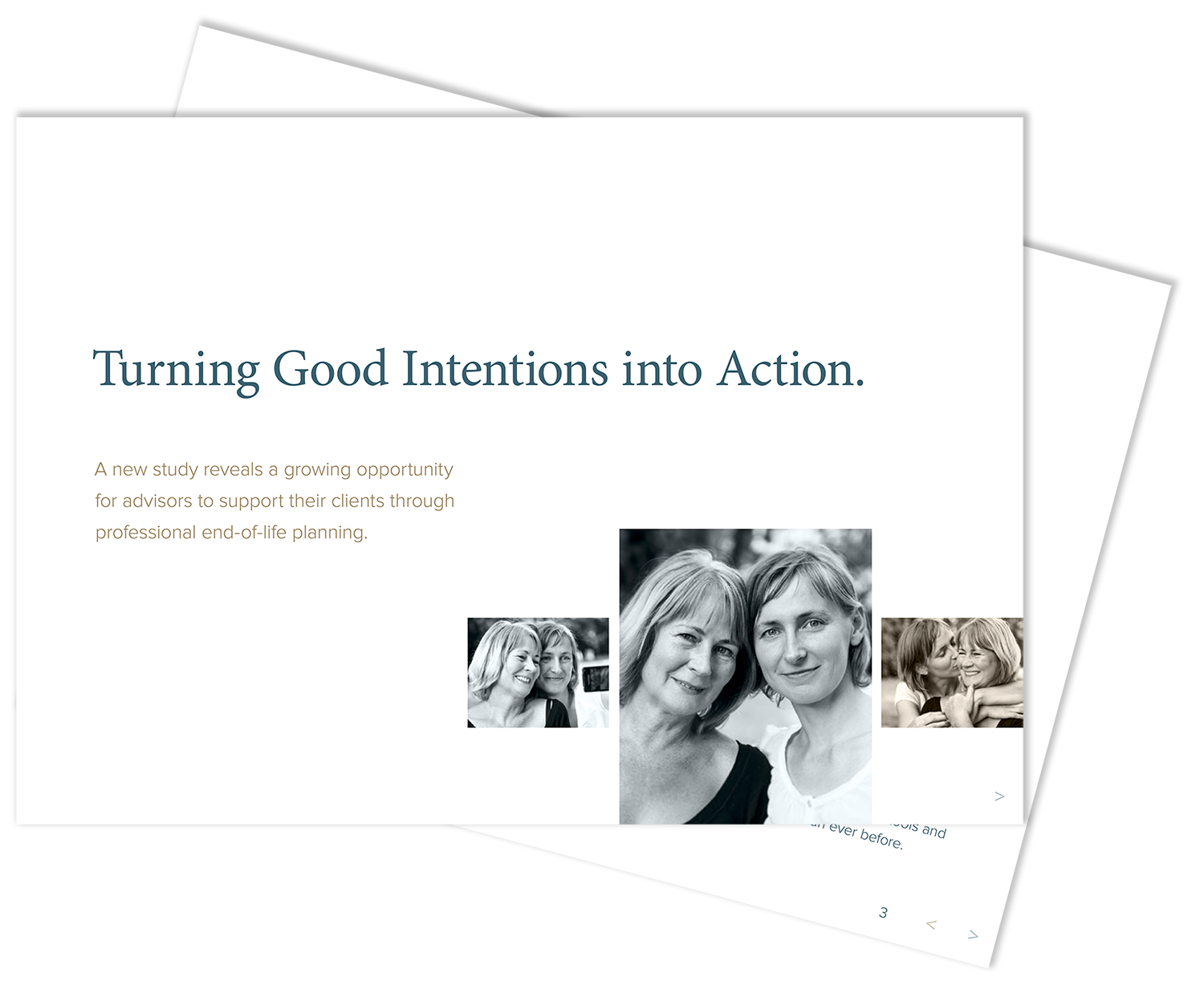 Turning Good Intentions into Action White Paper