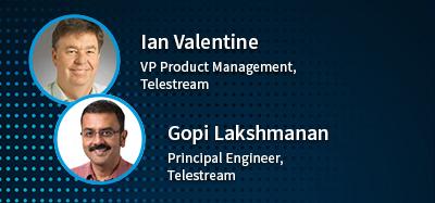 Ian Valentine and Gopi Lakshmanan