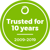 Trusted for 10 Years