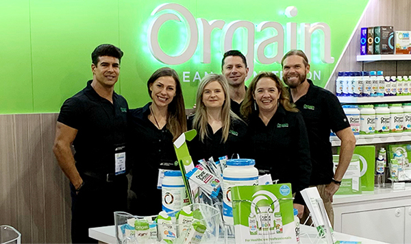 Proud to partner with Orgain