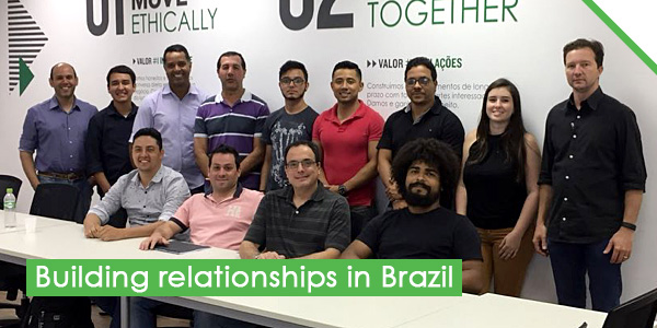 Building relationships in Brazil