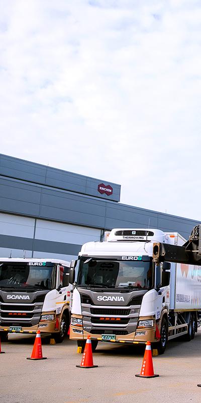 Rinchem Delivery Trucks
