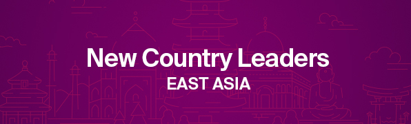 East Asia Country Leaders