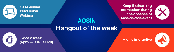 AOSIN Hangout of the week