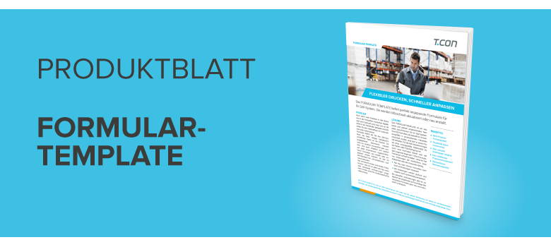 Download Produktblatt FORMULAR-TEMPLATE
