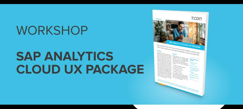 SAP Analytics Cloud UX Package
