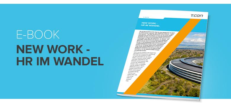 T.CON | E-Book | New Work - HR im Wandel