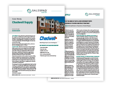 Chadwell Supply Case Study