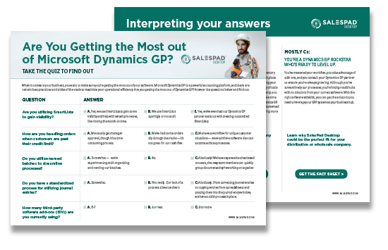 Are you getting the most out of dynamics GP