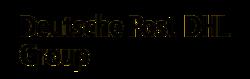 Logo der Firma Deutsche Post DHL Group.