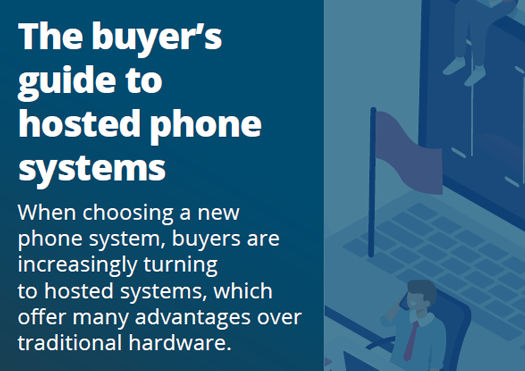 the buyers guide to hosted phone systems cover