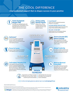 CoolSculpting Differentiators