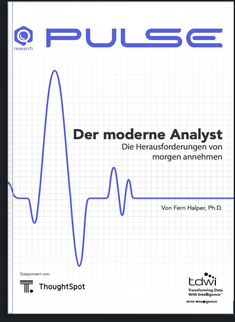 Was möchten moderne Analysten?