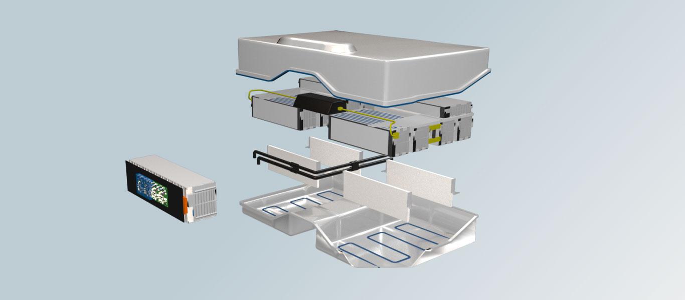 battery module silicone applications momentive