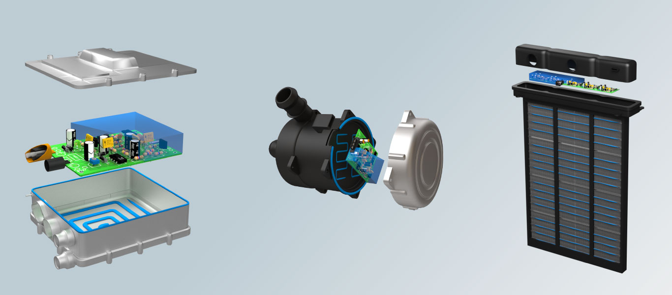 ev thermal coolant heater and PTC air heater