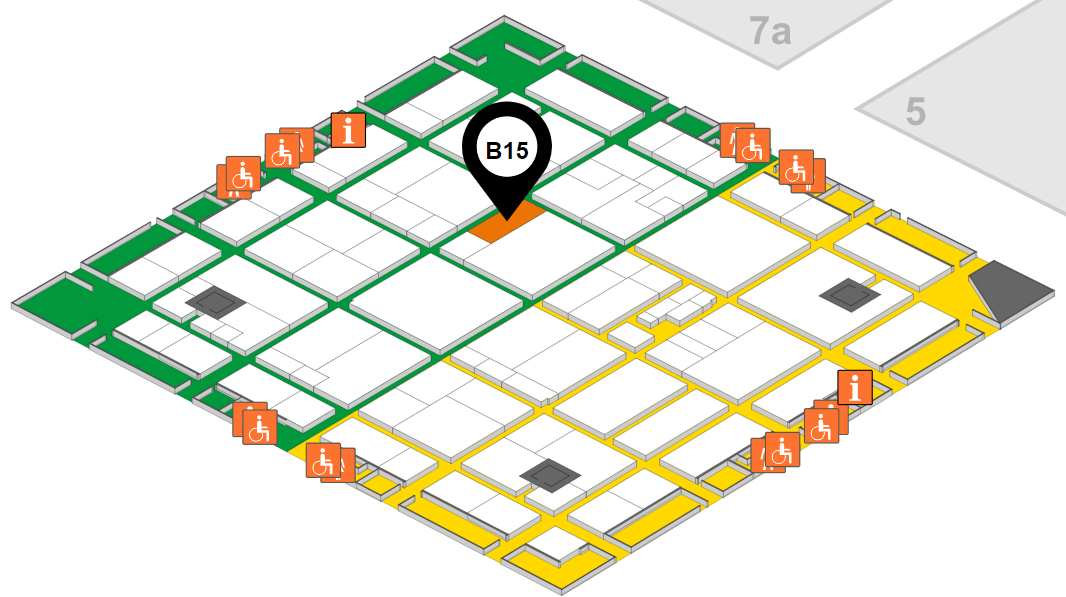 K 2019 Booth Location