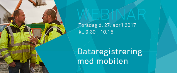 Webinar: Dataregistrering med mobilen