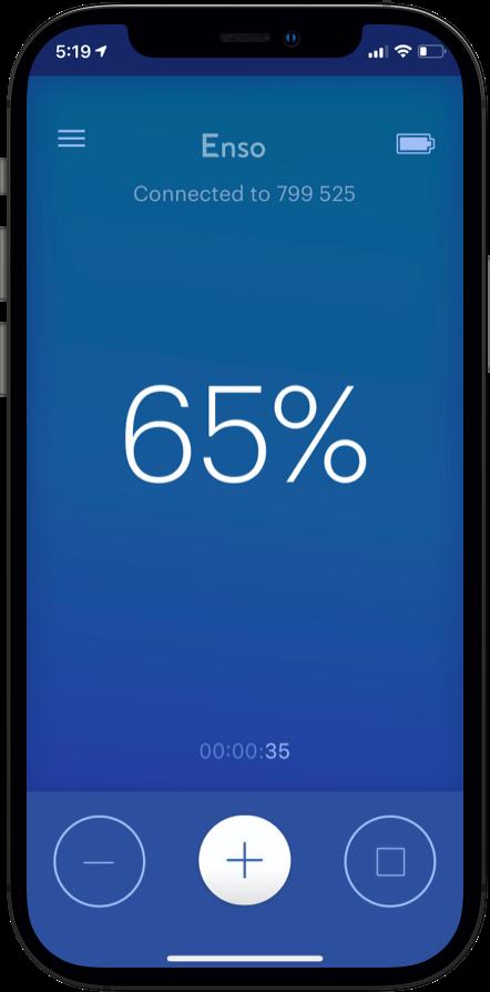 image of app on phone