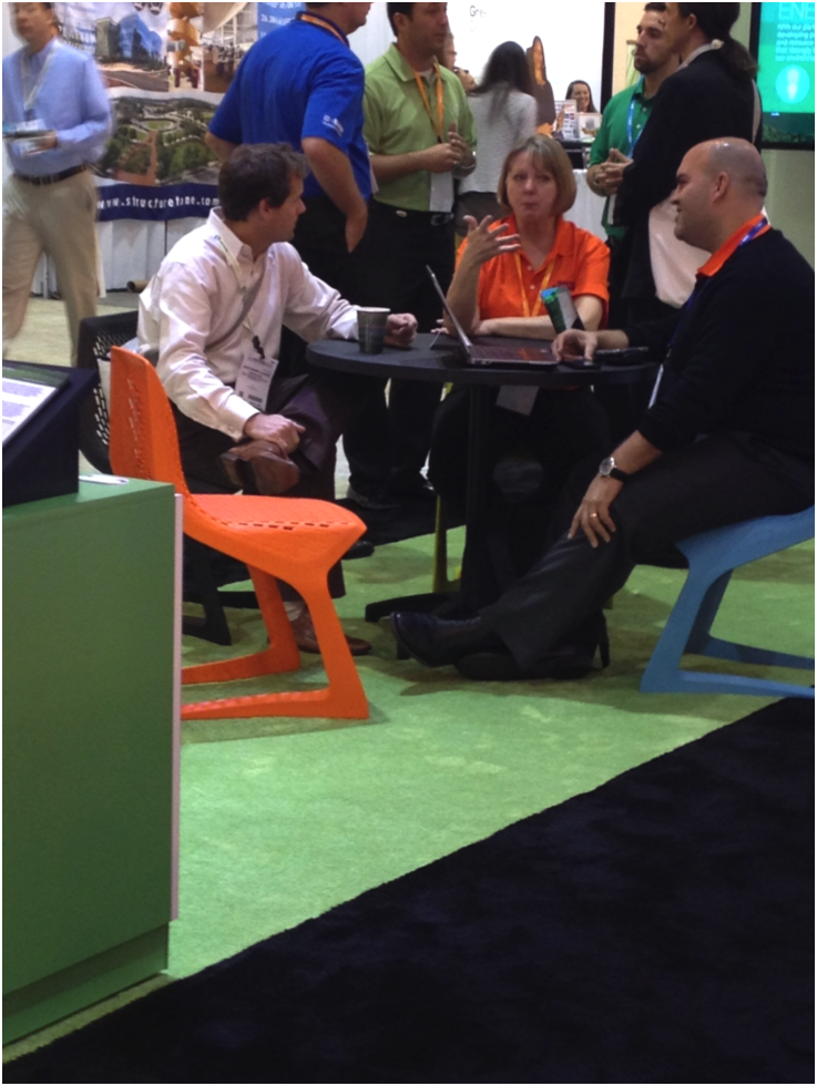 At GreenBuild 2014 BASF experts got to engage with conference goers.
