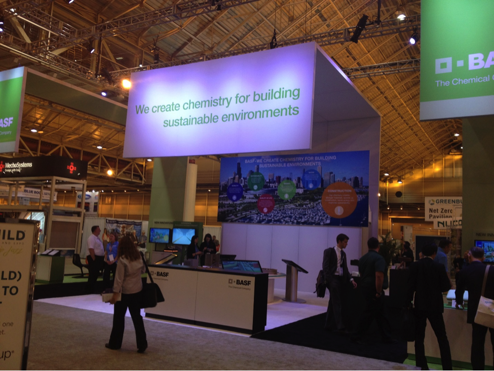 GreenBuild BASF Booth Photo