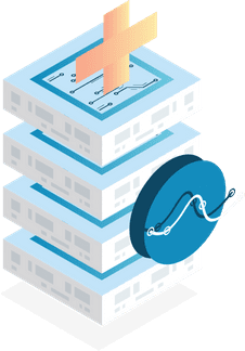 Isometric Database Illustration