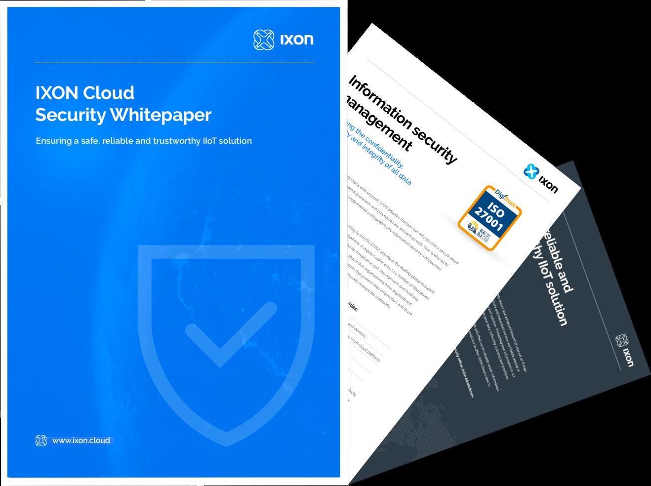 IXON Cloud Security Whitepaper