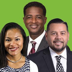Alexandra Guilamo, Anthony Muhammad, and Luis Cruz