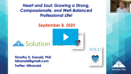 Heart & Soul: Growing A Strong, Compassionate and Well-Balanced Professional Life