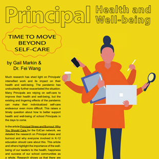 Magazine Article: Principal Health and Well-being: Time to Move Beyond Self-care