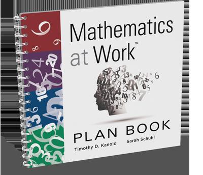 Mathematics at Work Plan Book
