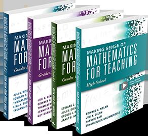 Making Sense of Mathematics for Teaching series