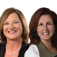Karen Power and Kathy Tuchman Glass