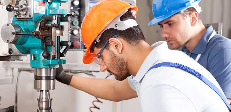 Skilled industrial workers provided by Elite Staffing, a CloudReady customer