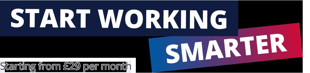 Start Working Smarter