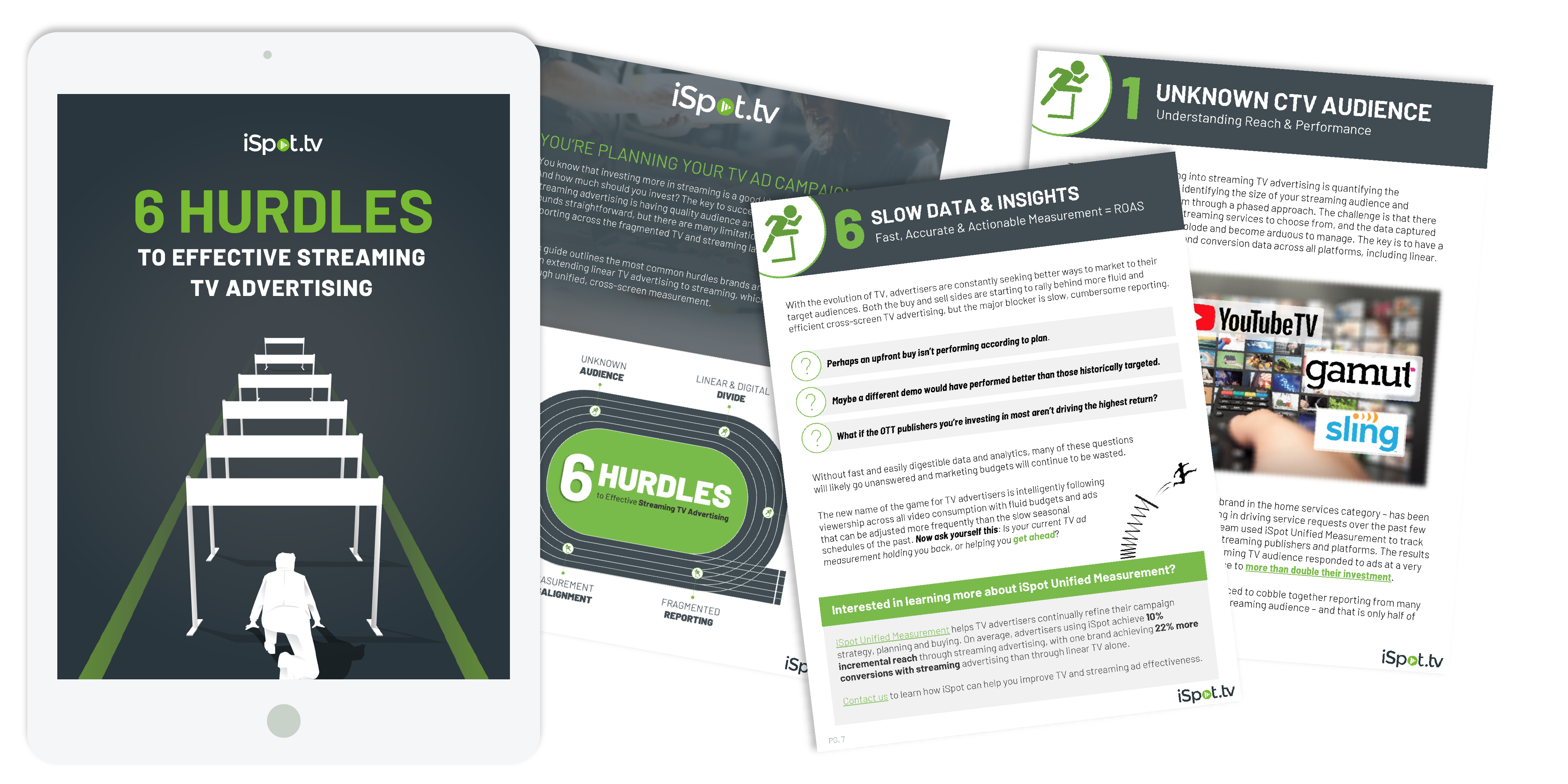 6 Hurdles Unified Ebook, free ebook cover image