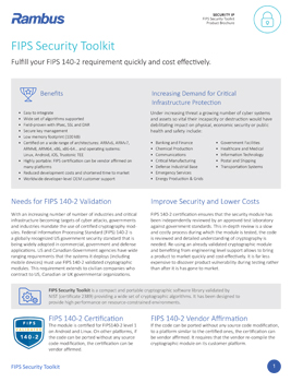Download the Inside Secure FIPS Security Toolkit brochure