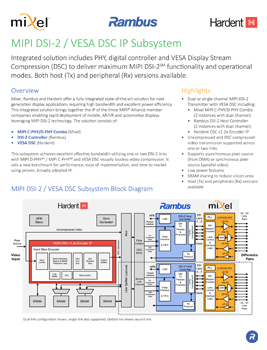 DSI-2 Controller Product Brief