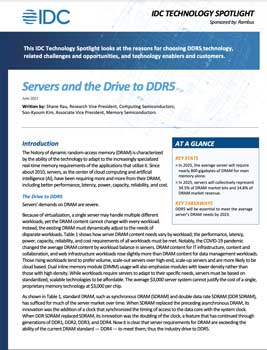 Download Servers and the Drive to DDR5