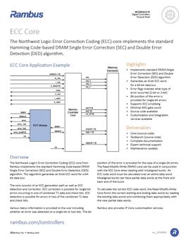 ECC Core Product Brief