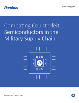 Download Combating Counterfeit Semiconductors in the Military Supply Chain