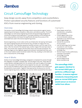 Download the Inside Secure Circuit Camouflage Technology Brochure