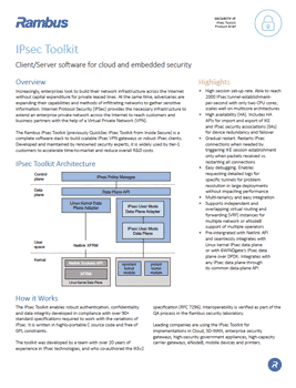 Download the IPsec Toolkit product brief