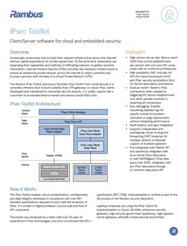 Download the IPsec Toolkit product brief